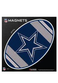 Dallas Cowboys 6 Inch Jersey Stripe Magnet
