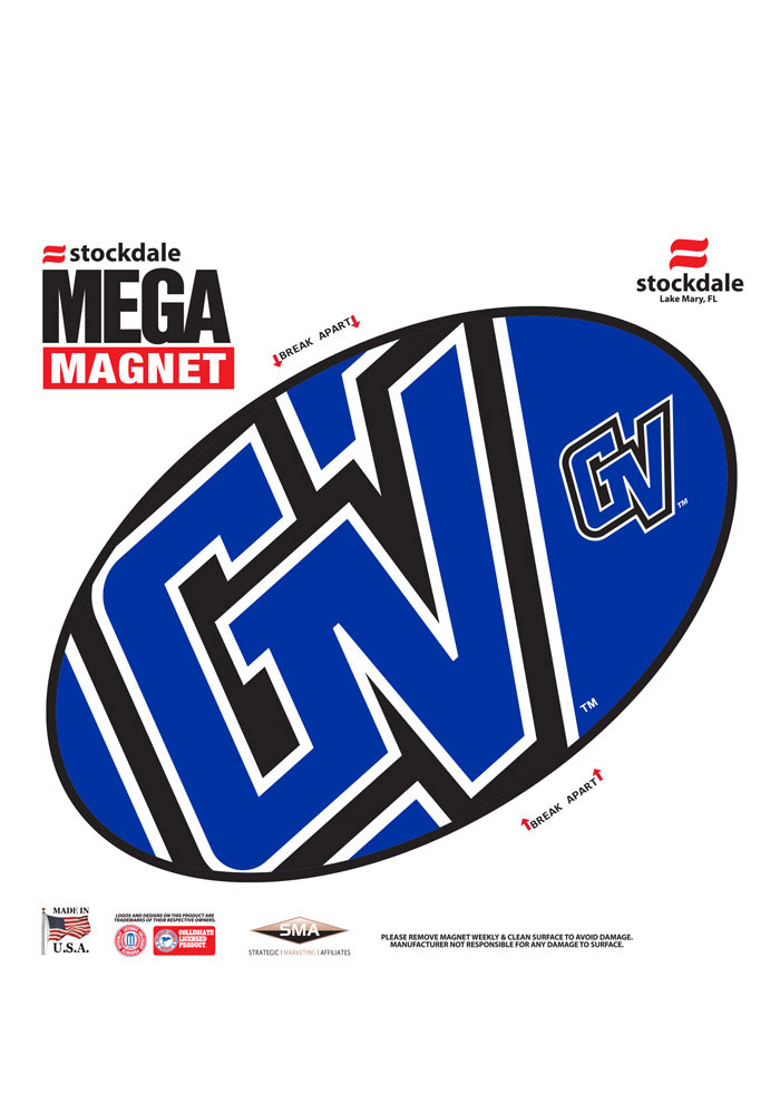 Grand Valley State Lakers Team Color Magnet - Image 1