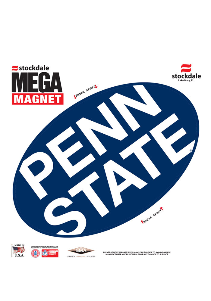 Penn State Nittany Lions Team Color Magnet - Image 1