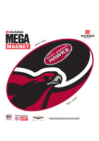 Saint Josephs Hawks Team Color Magnet