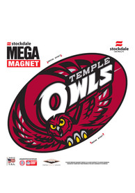 Temple Owls Team Logo Magnet