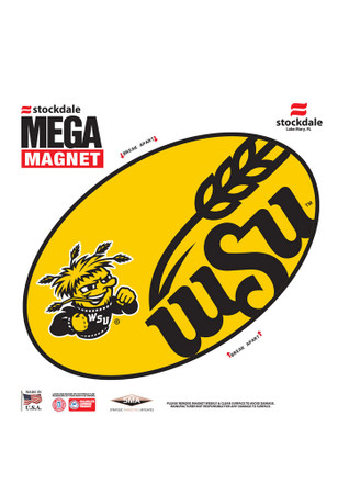 Wichita State Shockers Team Color Magnet