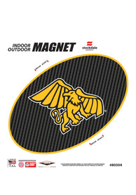 Missouri Western Griffons 6 Inch Carbon Magnet