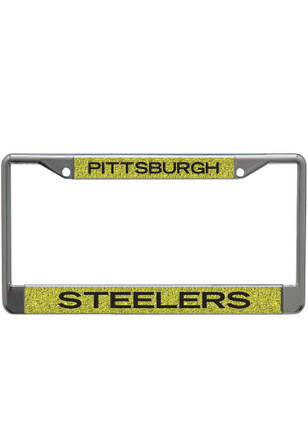 Pittsburgh Steelers Glitter Team Logo License Frame