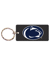 Penn State Nittany Lions Carbon Keychain