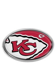 Kansas City Chiefs Car Emblem - Red