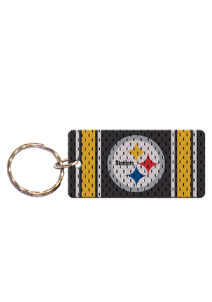 Pittsburgh Steelers Jersey Keychain