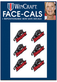 Drury Panthers 6 Pack Tattoo