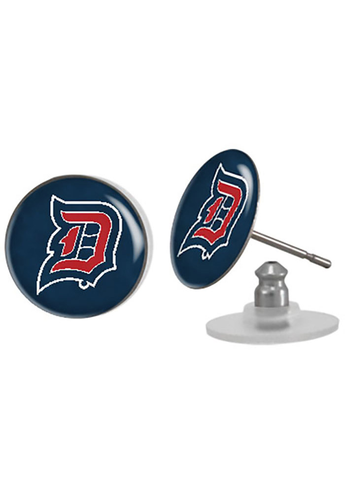 Duquesne Dukes Domed Post Womens Earrings - Image 1