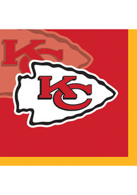 Kansas City Chiefs 16 Pack Beverage Napkins