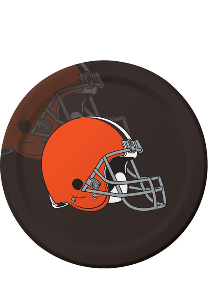 Cleveland Browns 8 pack Paper Plates - Image 1