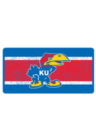 Kansas Jayhawks 1941 Jayhawk Vintage Car Accessory License Plate