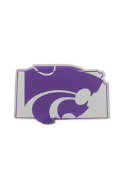 K-State Wildcats State Shaped Car Accessory Car Emblem
