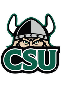 Cleveland State Vikings Team logo Auto Decal - Green