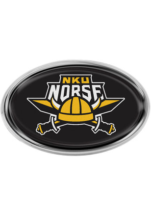 Northern Kentucky Norse Domed Oval Car Accessory Car Emblem