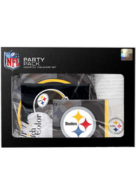 Pittsburgh Steelers Tableware Yellow Party Pack