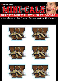 Western Michigan Broncos 6 Pack Tattoo