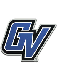 Grand Valley State Lakers Acrylic Car Emblem - Blue