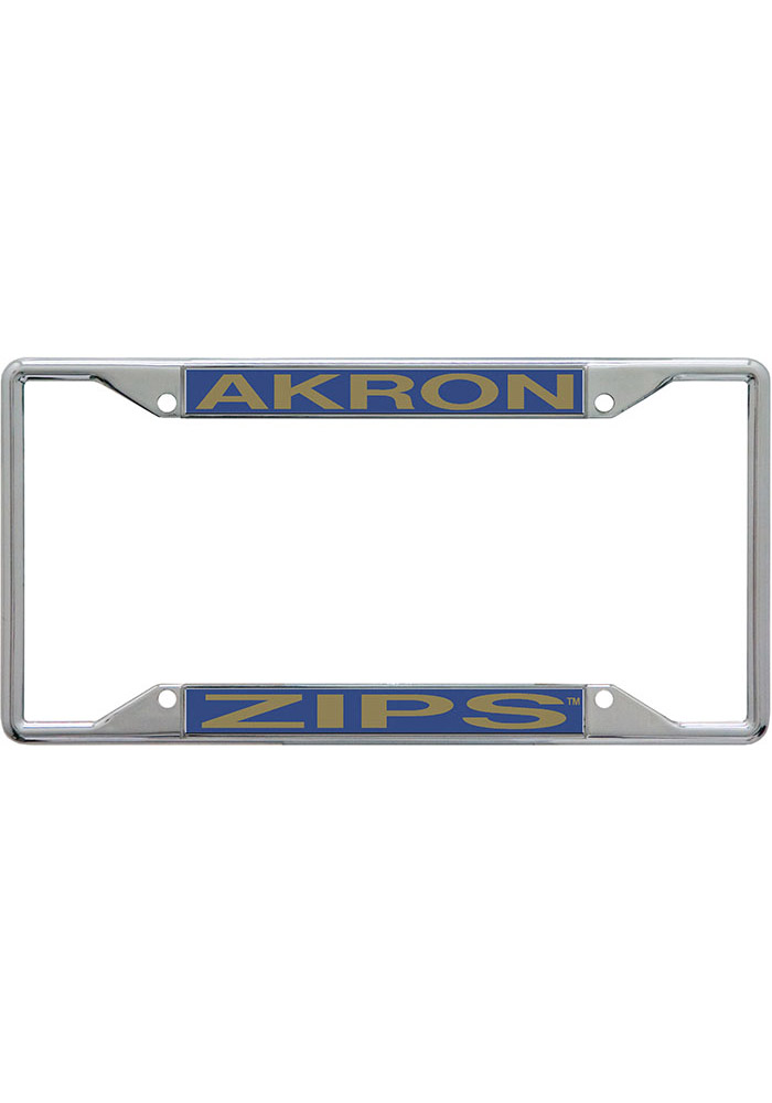 Akron Zips Team Name Inlaid License Frame - Image 1