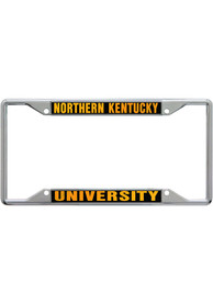 Northern Kentucky Norse Team Name Inlaid License Frame