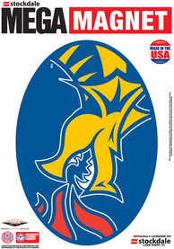 Drexel Dragons 5x7 Car Magnet - Blue