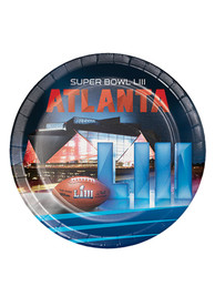 Super Bowl LIII 7 Luncheon Paper Plates