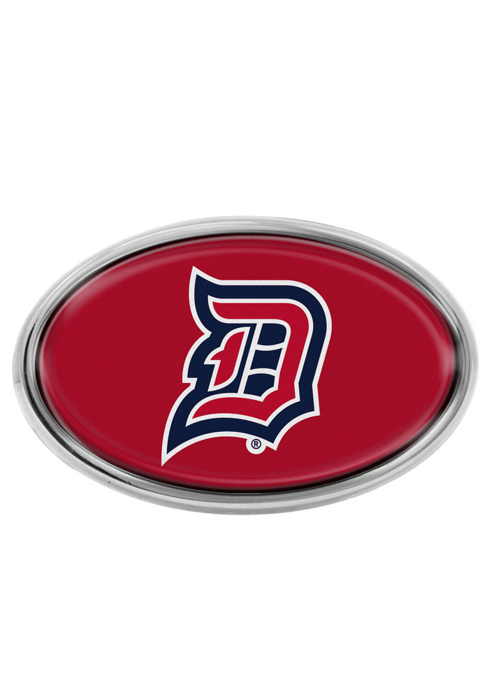 Duquesne Dukes Domed Oval Car Accessory Car Emblem - Image 1
