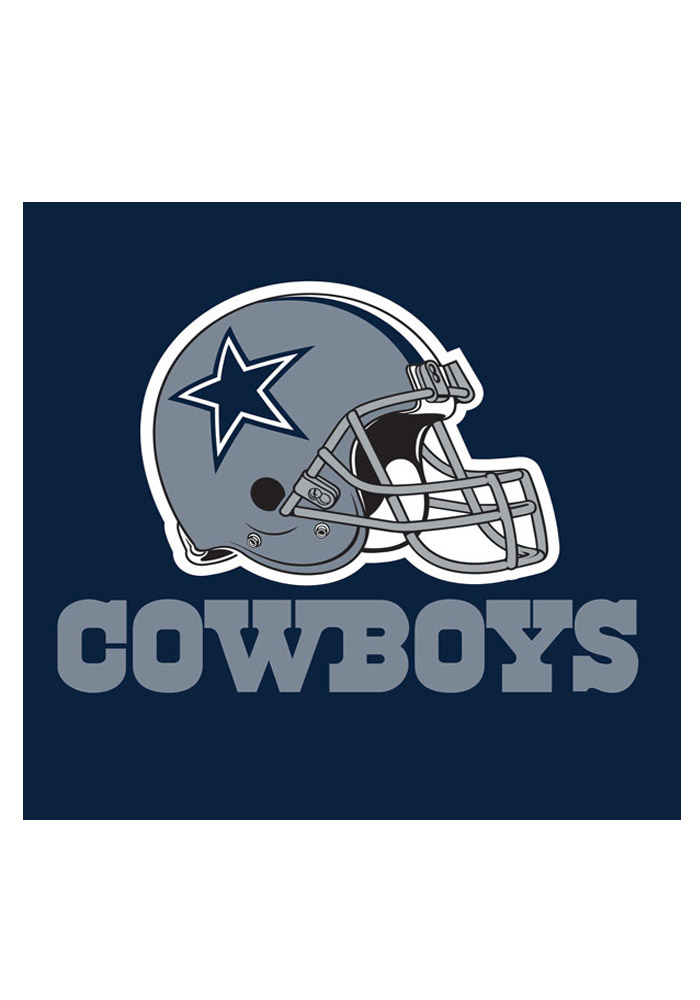 Dallas Cowboys 20 Pack Luncheon Napkins - Image 1