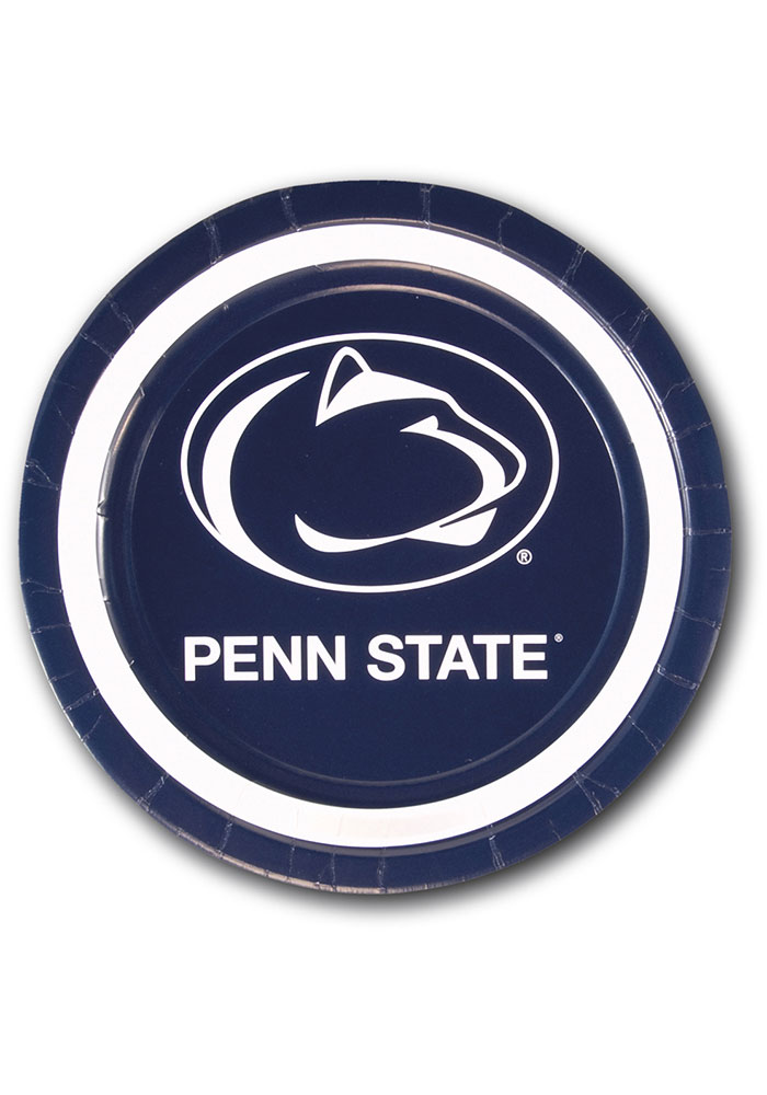 Penn State Nittany Lions 7 Inch 12 Pack Paper Plates - Image 1