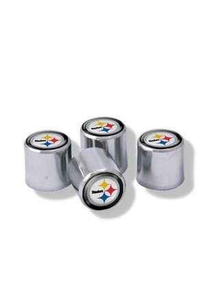 Pittsburgh Steelers 4 Pack Auto Accessory Valve Stem Cap