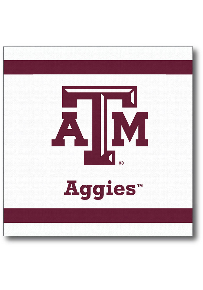Texas A&M Aggies beverage 24 pack Napkins - Image 1
