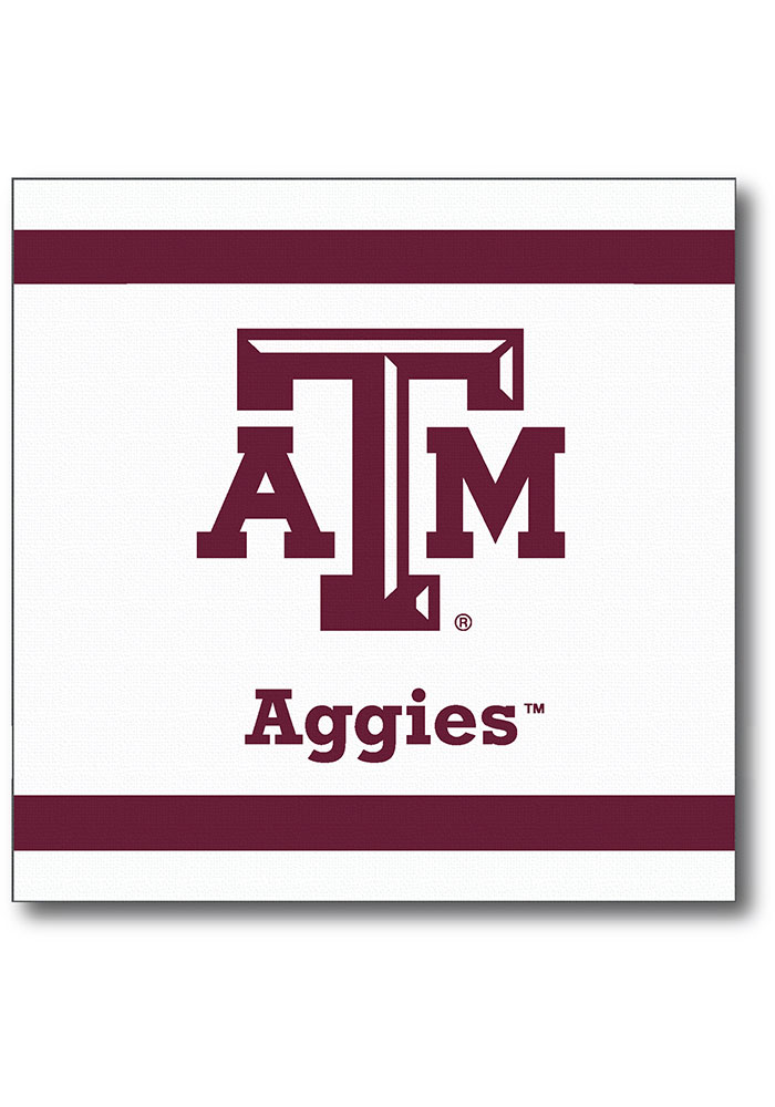 Texas A&M Aggies luncheon 20 pack Napkins - Image 1