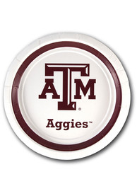 Texas A&M Aggies 7 inch 12 pack Paper Plates