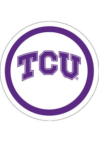 TCU Horned Frogs 9 inch 10 pack Paper Plates