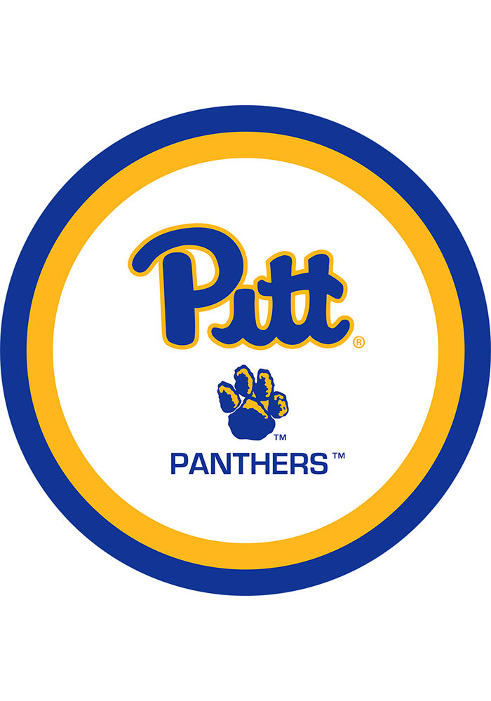 Pitt Panthers 9 inch 10 pack Paper Plates - Image 1