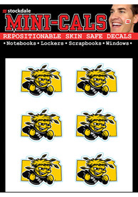 Wichita State Shockers 6pk State Shape Tattoo