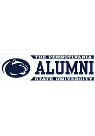 Penn State Nittany Lions 3x10 Alumni Auto Decal - Navy Blue