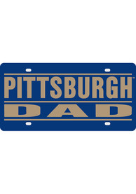 Pitt Panthers Dad Car Accessory License Plate