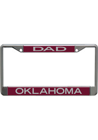 Oklahoma Sooners Dad License Frame
