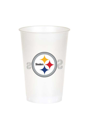 Pittsburgh Steelers 20 oz 8 Pack Disposable Cups