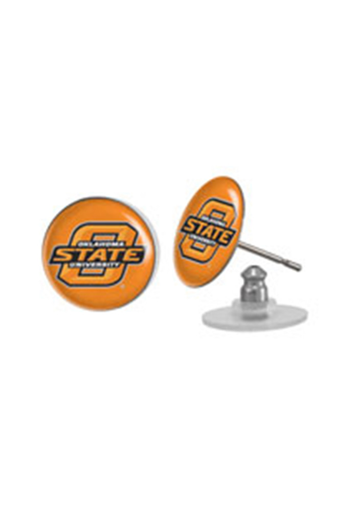 Oklahoma State Cowboys Spirit Womens Earrings - Image 1