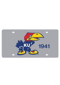 Kansas Jayhawks 1941 Jayhawk Car Accessory License Plate