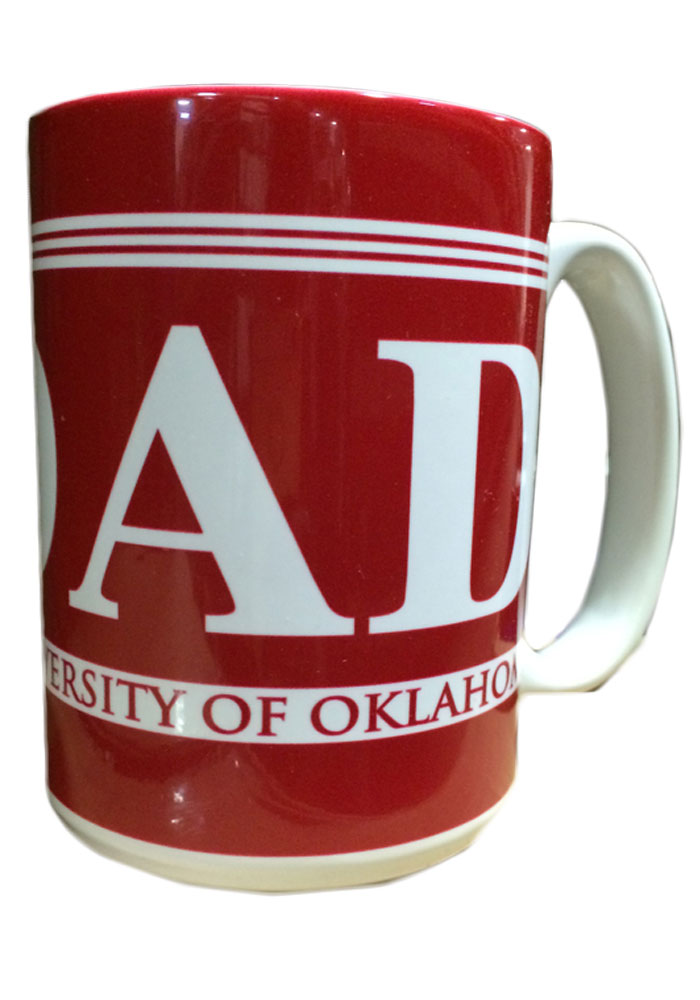 Oklahoma Sooners 15oz Dad Ceramic Mug - Image 1