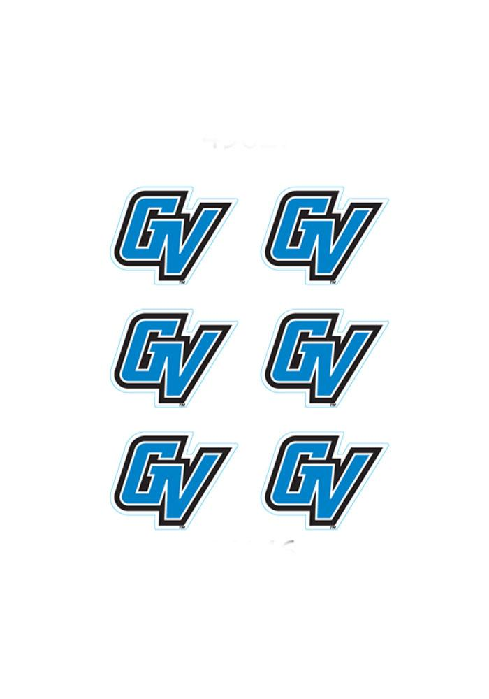 Grand Valley State Lakers 6 Pack Tattoo - Image 1