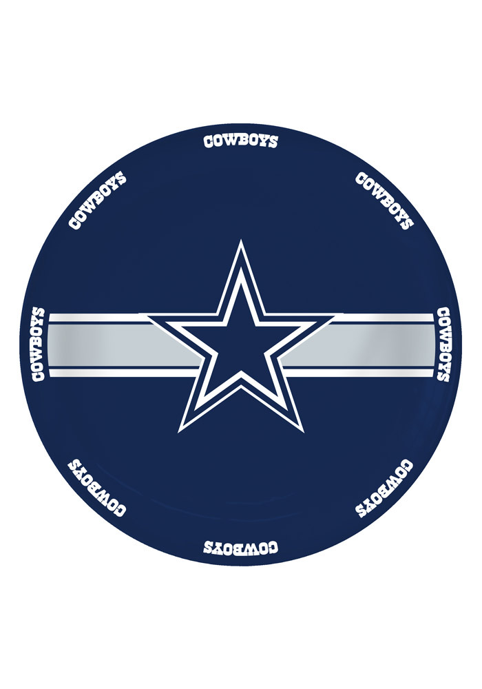 Dallas Cowboys 11in Serving Plate