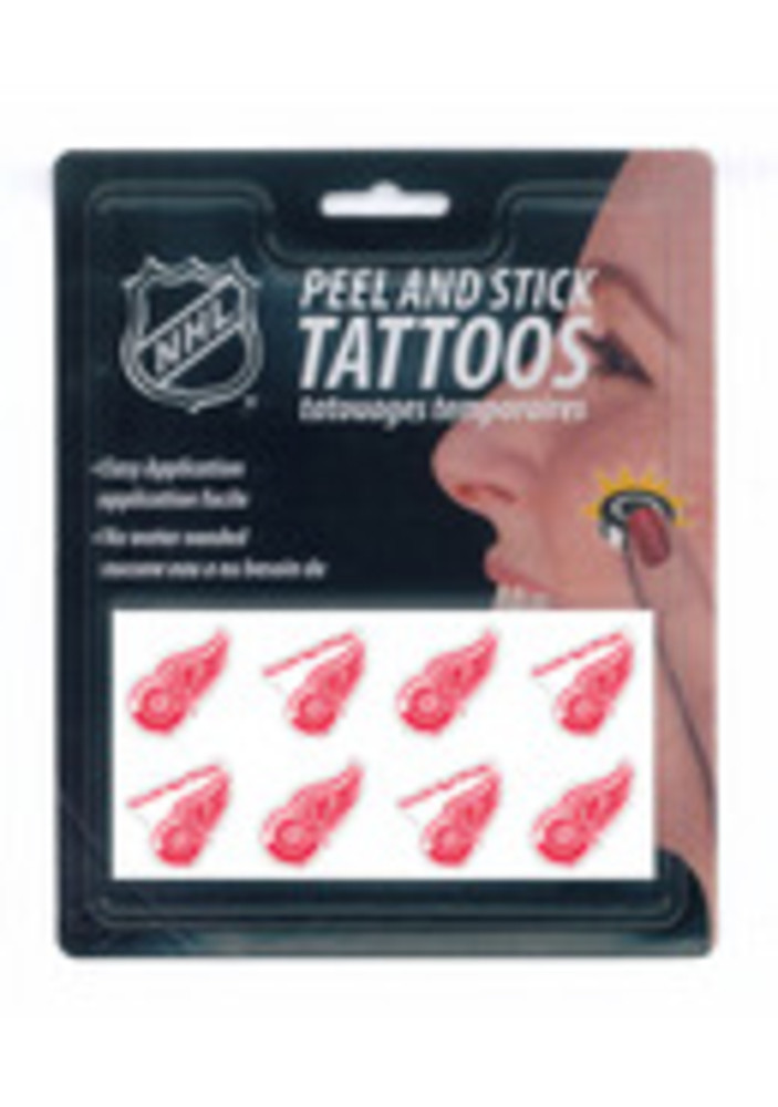 Detroit Red Wings 8 Pack Tattoo - Image 3