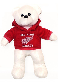 Detroit Red Wings Hoodie Bear Plush