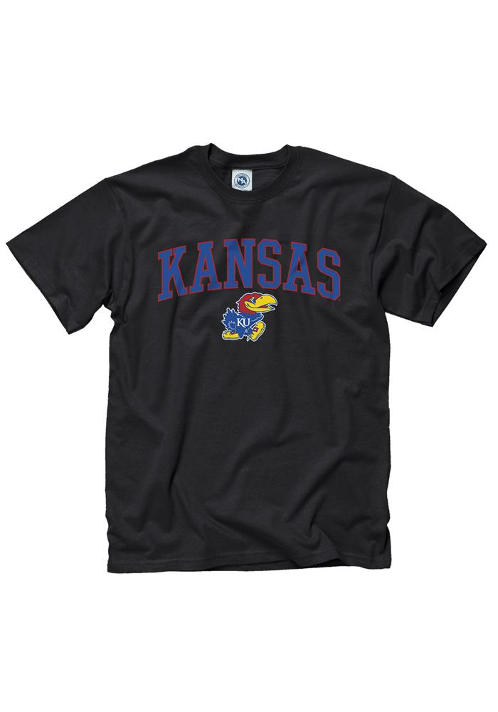 Kansas Jayhawks Black Midsize Tee