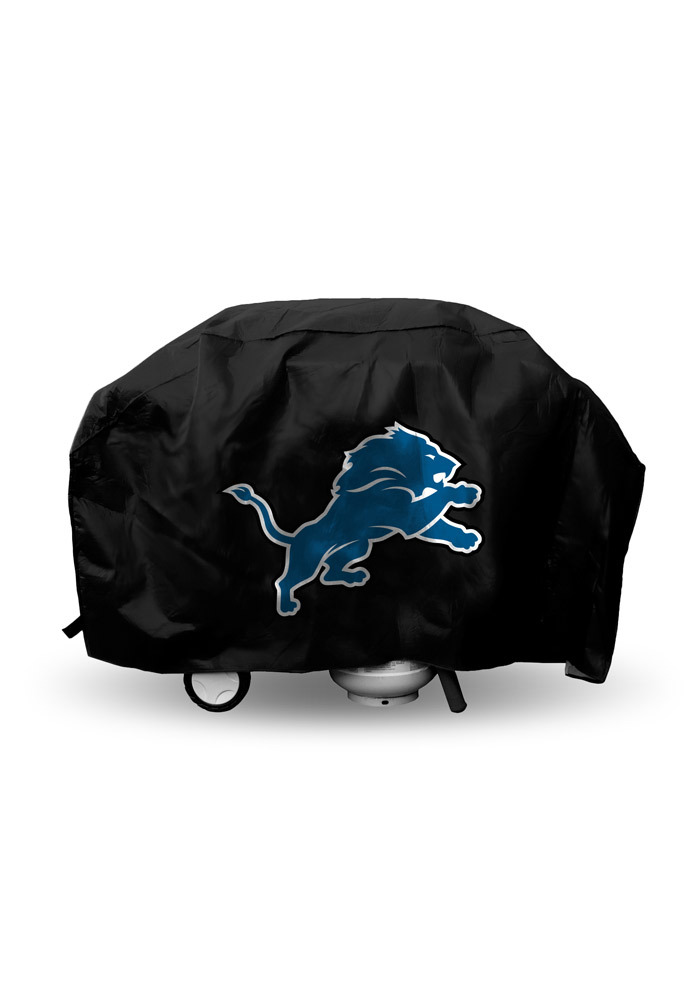 Detroit Lions Deluxe BBQ Grill Cover - Image 1