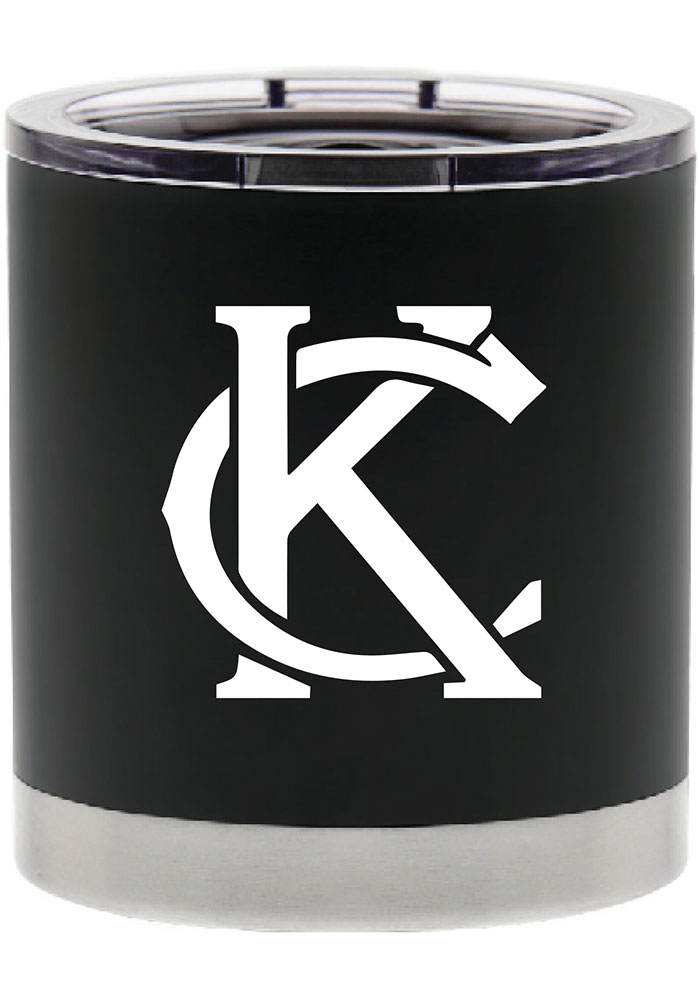 Kansas City 12oz Endurance Black Stainless Steel Tumbler - Image 1